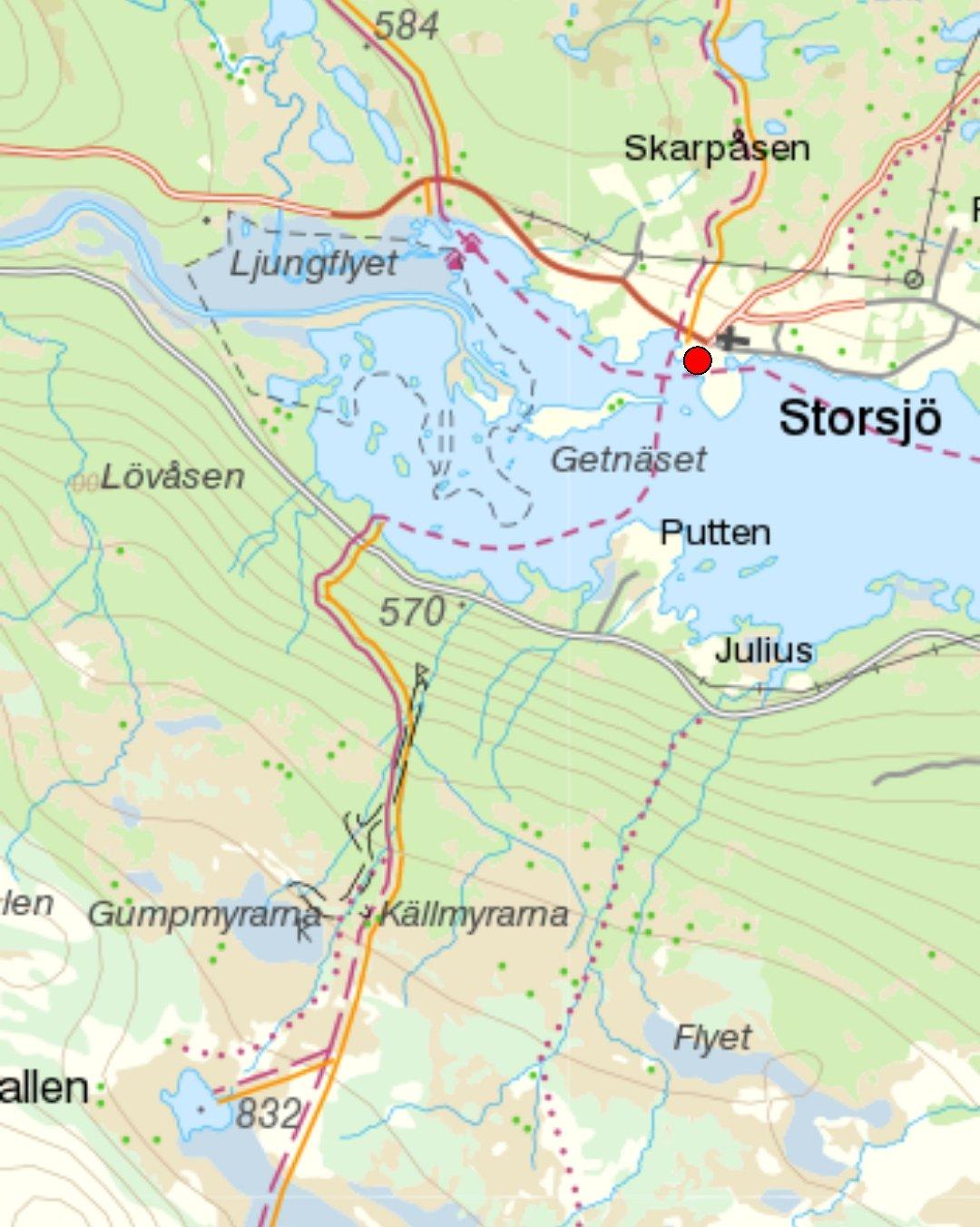 Storsjö fångstgropsystem